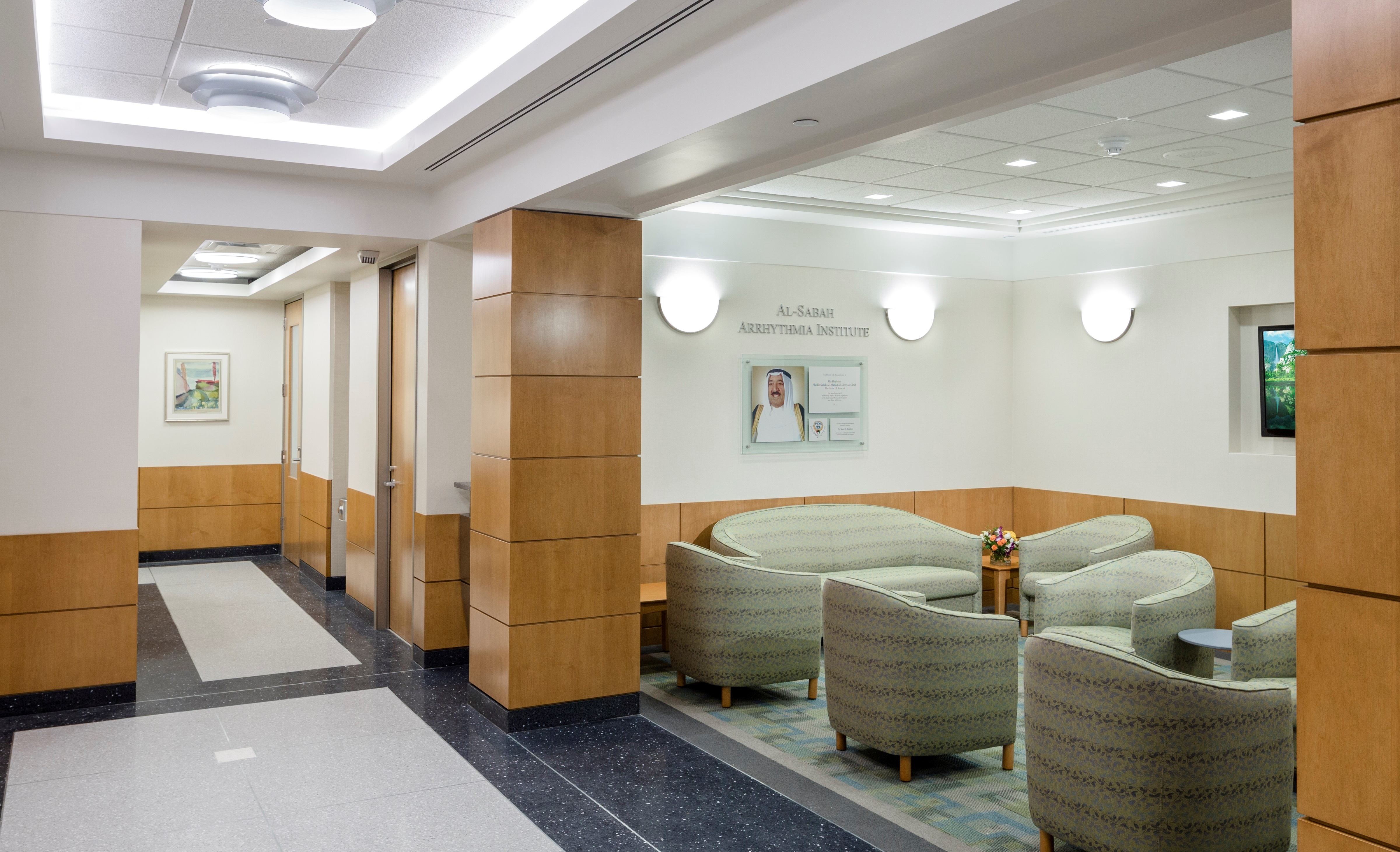 Doctors office facility project management for Interior design medical office